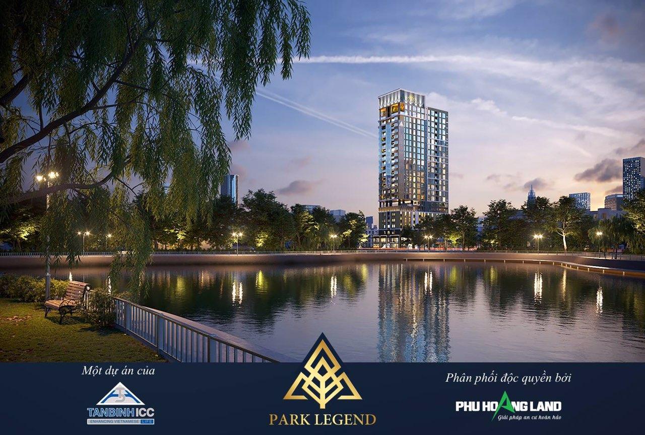 Phối cảnh dự án Park Legend 251 Hoàng Văn Thụ
