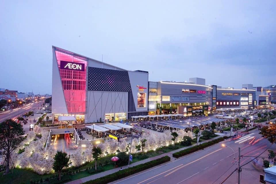 Aeon Bình Tân liền kề Aio City