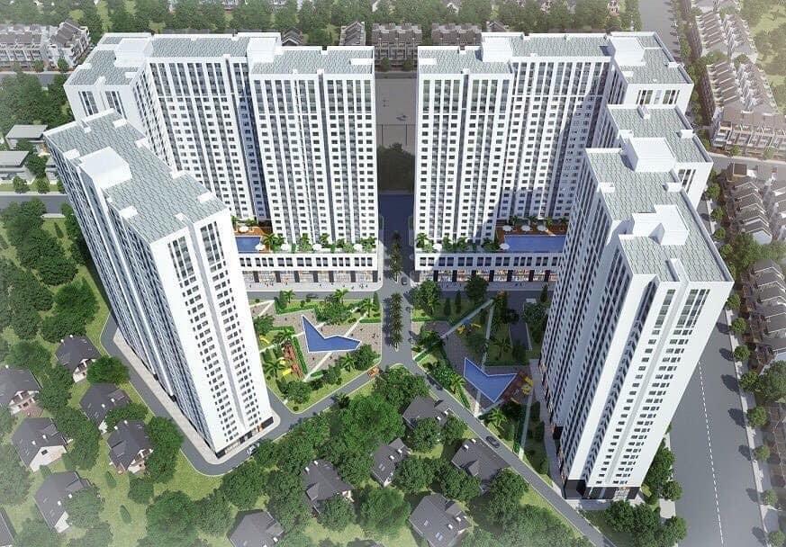 Phoi canh can ho Aio City Binh Tan