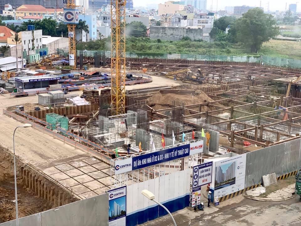 Tiến độ thực tế dự án Aio City Bình Tân 5.2019