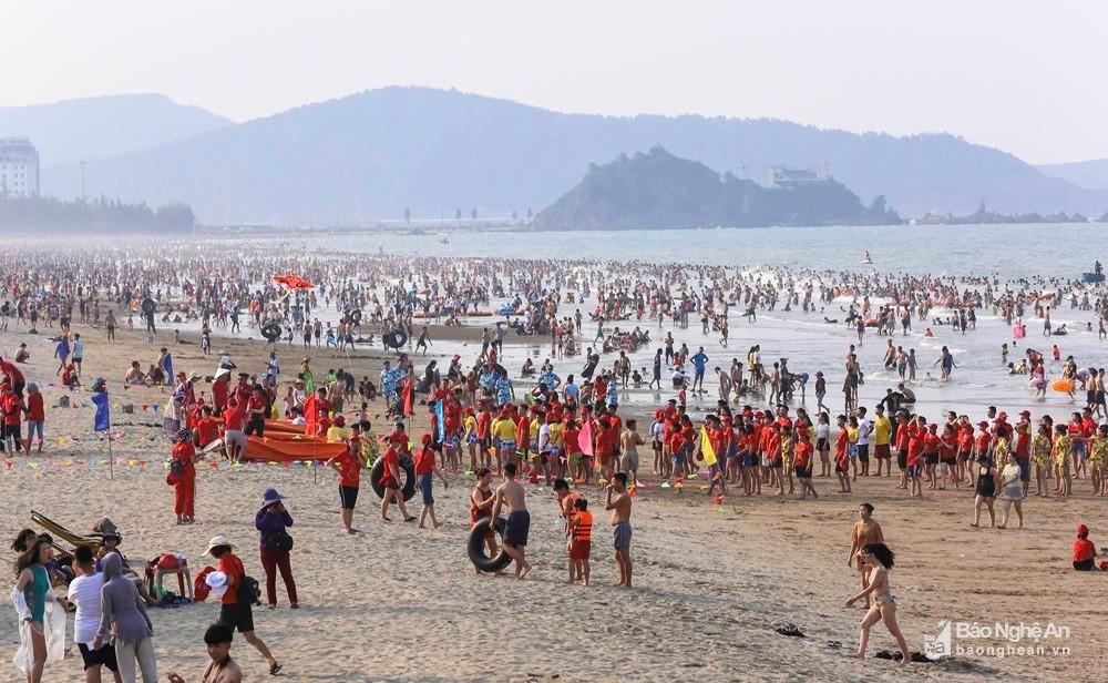 Biển Cửa Lò Nghệ An dịp lễ 30/4/2019