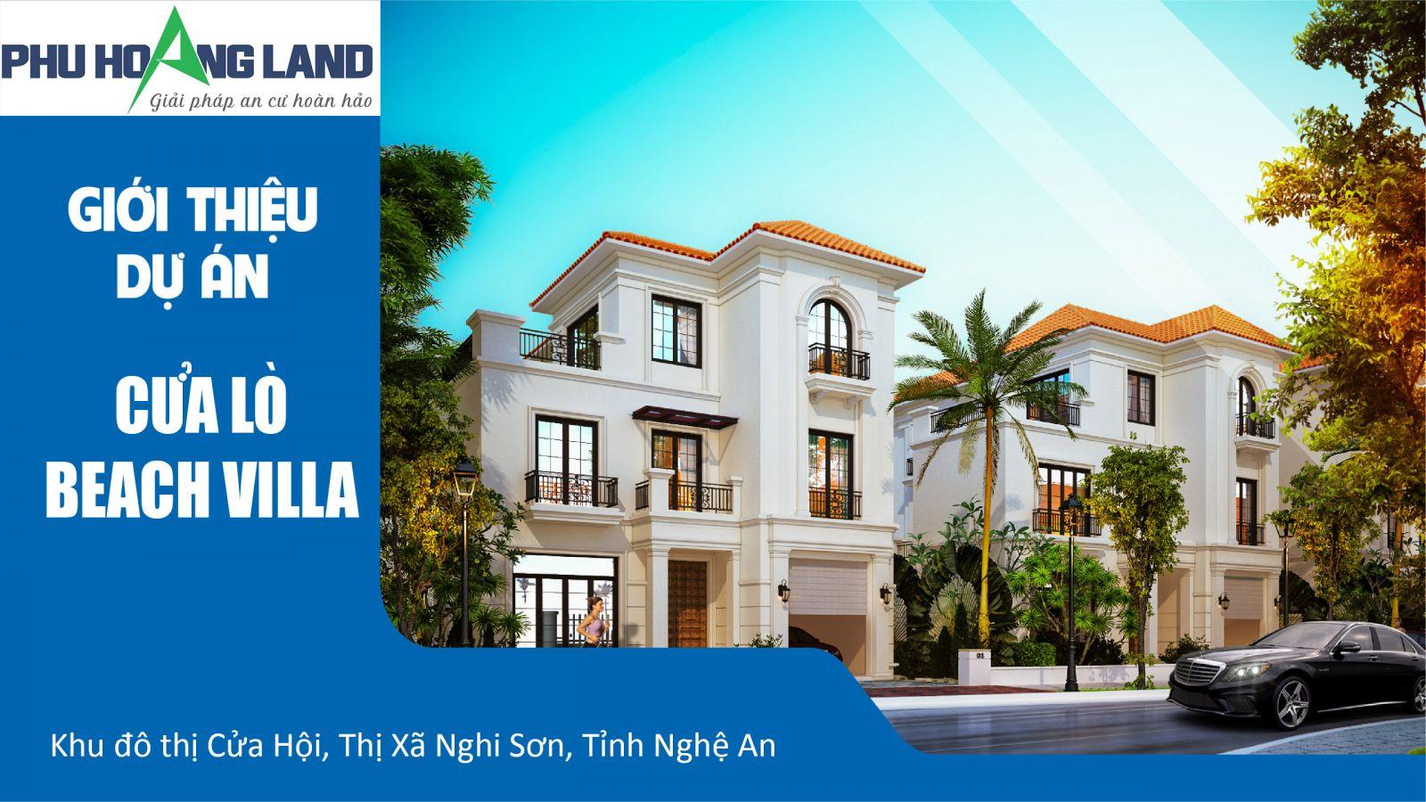 Phối cảnh biệt thự Cửa Lò Beach Villa