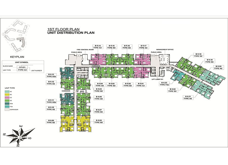 thiết kế,mặt bằng căn hộ emerald celadon city