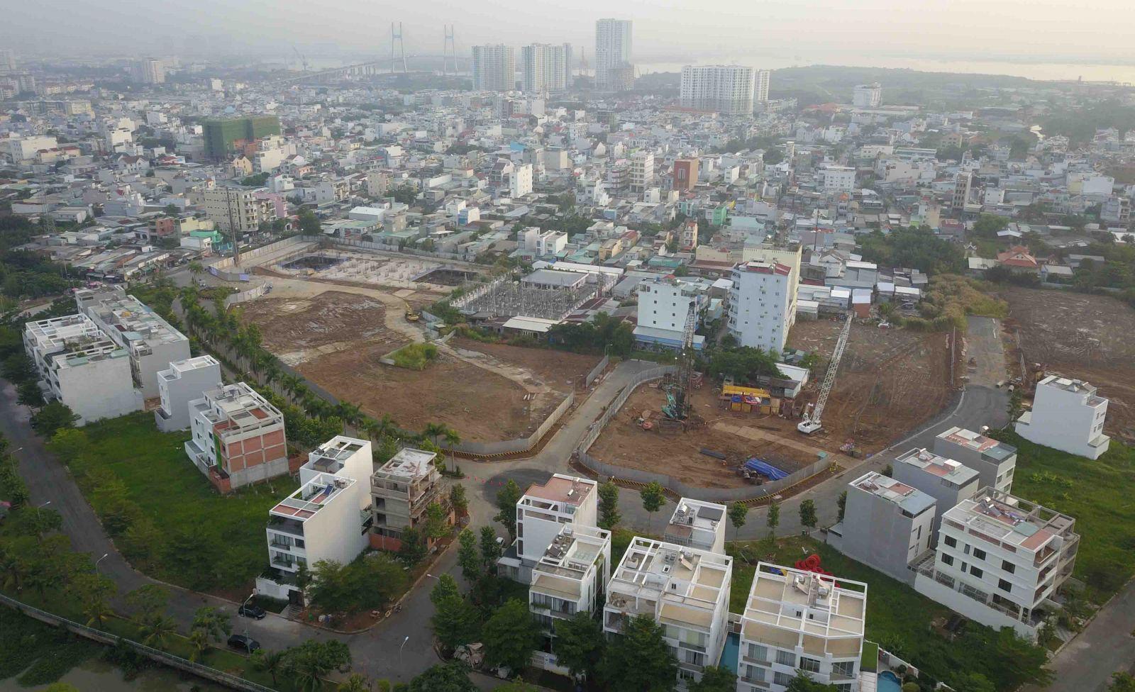 Tiến độ xây dựng Sunshine City quận 7