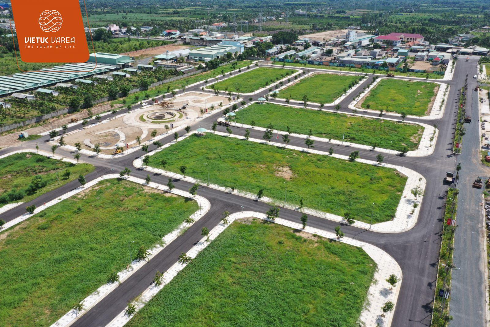Tiến độ cập nhật mới nhất dự án đất nền VietUc Varea Long An