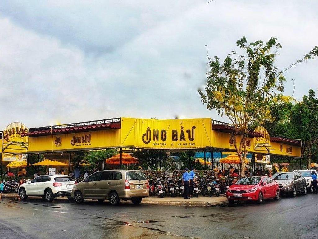 cafe ông Bầu tại dự án Vietuc Varea Bến Lức
