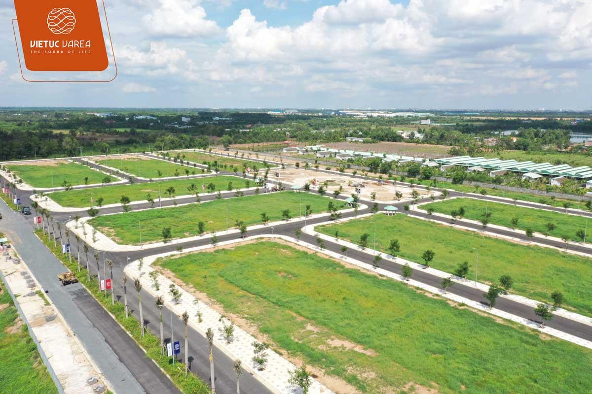 Tiến độ cập nhật mới nhất dự án đất nền VietUc Bến Lức Long An