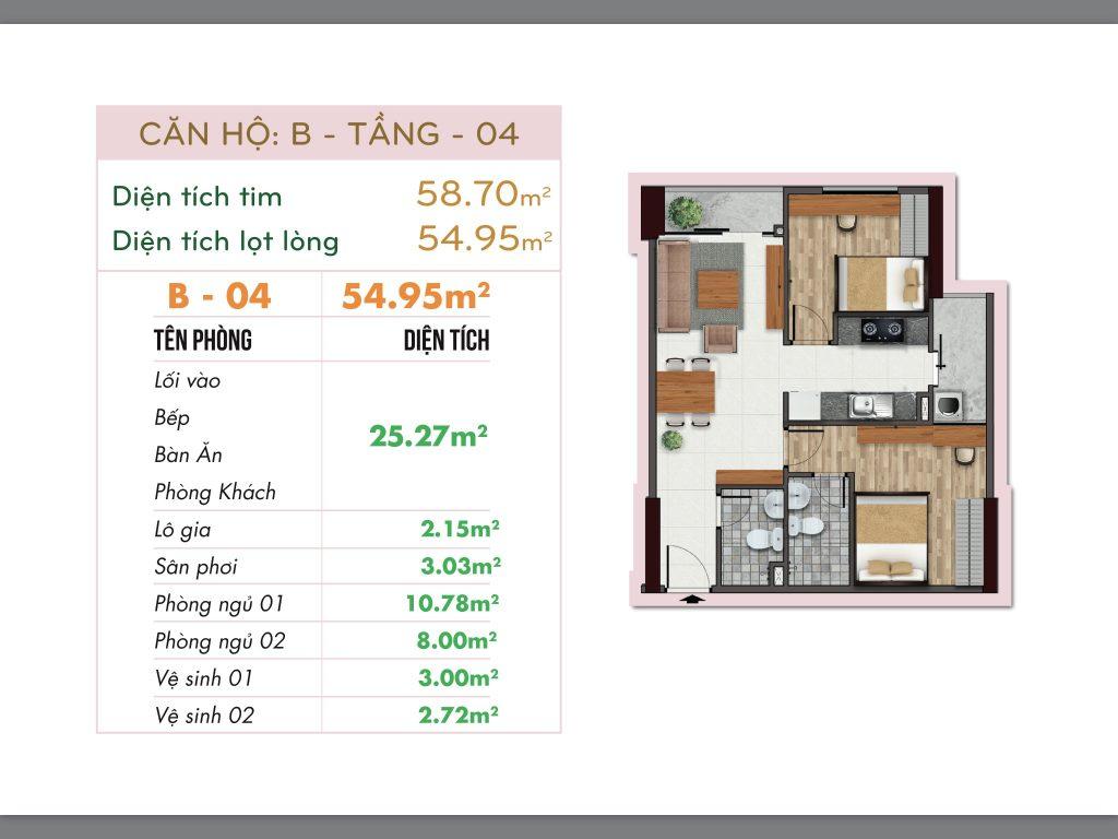 thiết kế căn hộ dự án 251 hoàng văn thụ