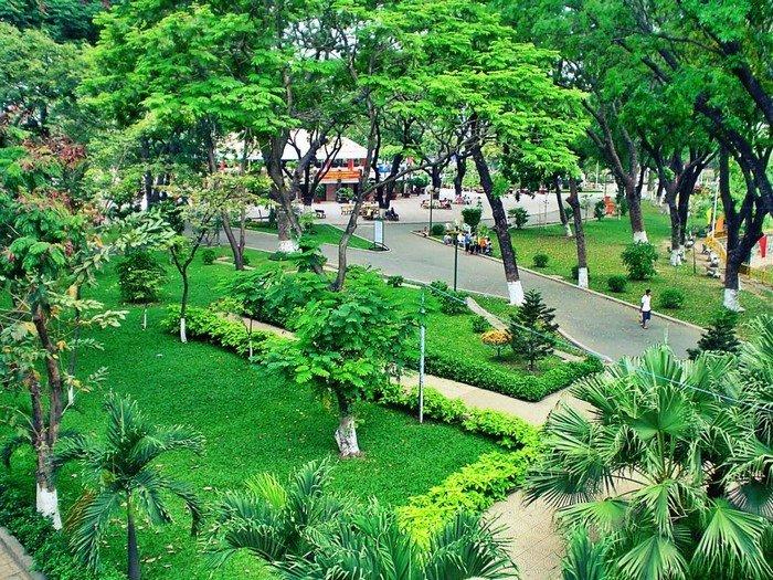 công viên xanh dự án 251 hoàng văn thụ