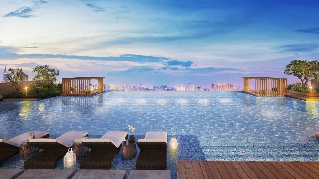 hồ bơi chân mây dự án 251 hoàng văn thụ