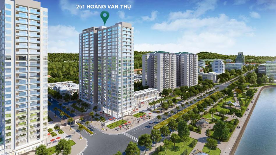 Phối cảnh dự án 251 Hoàng Văn Thụ